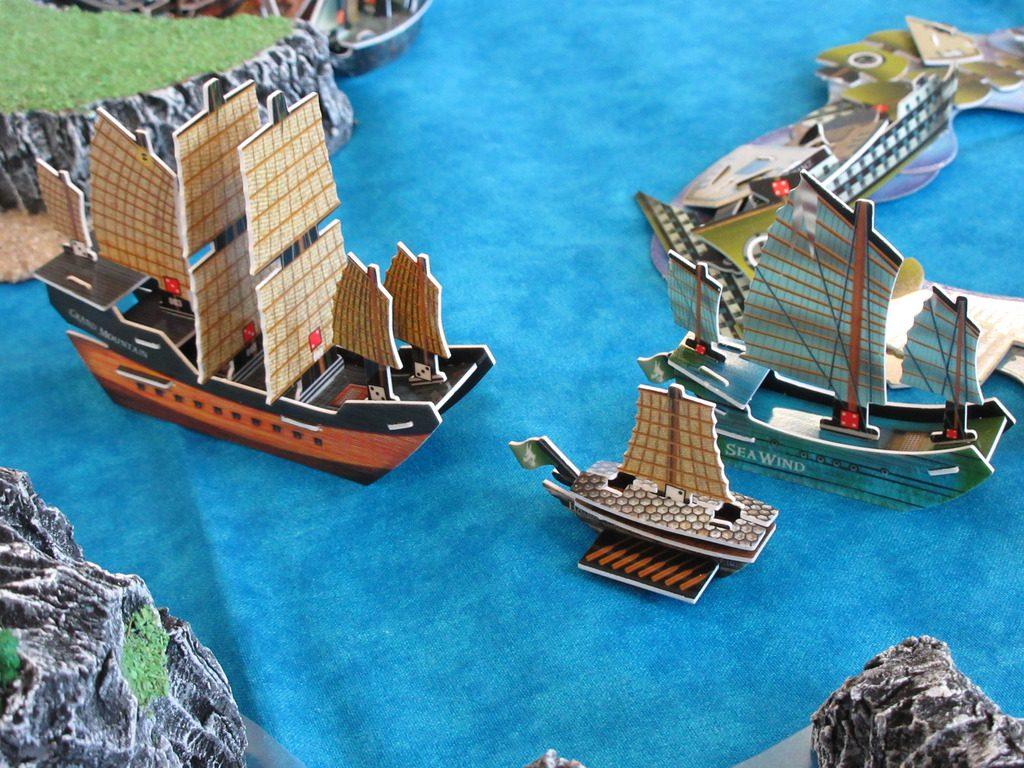 Jade Rebellion Pirates CSG fleet