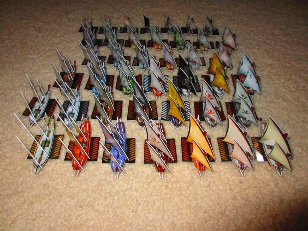 Barbary Corsair fleet Pirates CSG