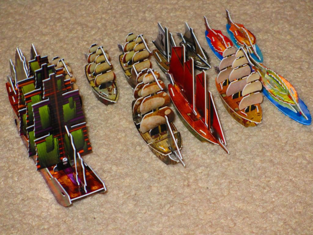 Mercenary fleet Pirates CSG