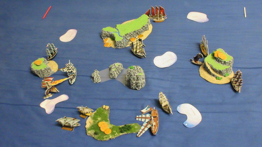 Gameplay of Pirates CSG