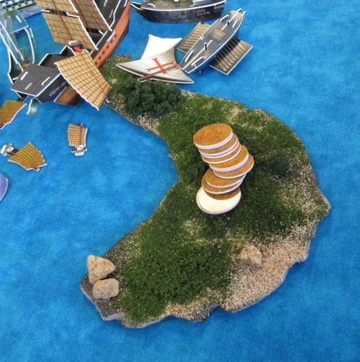 Custom island