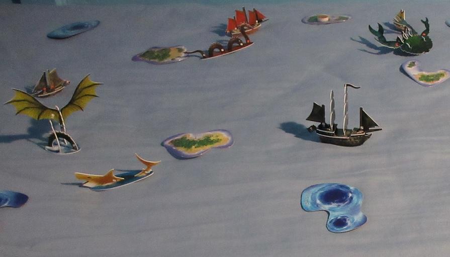 Pirates at Ocean's Edge
