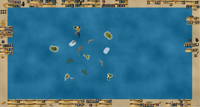 Norvegia fleet Pirates CSG Tournament 2