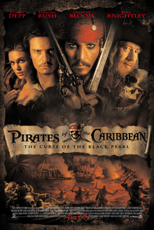 Curse of the Black Pearl Pirates of the Caribbean movie