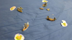 blue bed sheet Pirates CSG