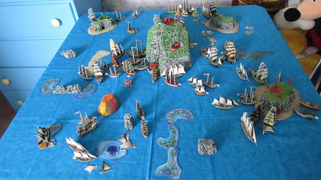 Caribbean Sea blue ocean play mat