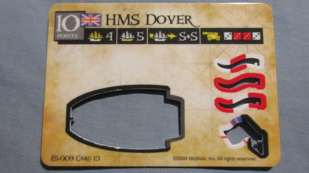 HMS Dover Spanish Main
