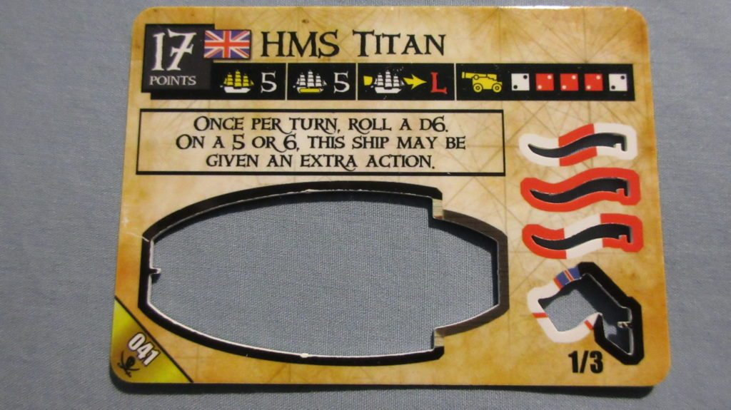 HMS Titan Spanish Main