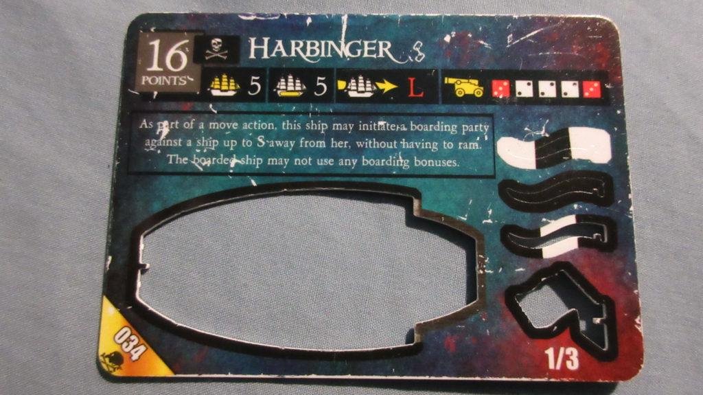 Harbinger Davy Jones Curse