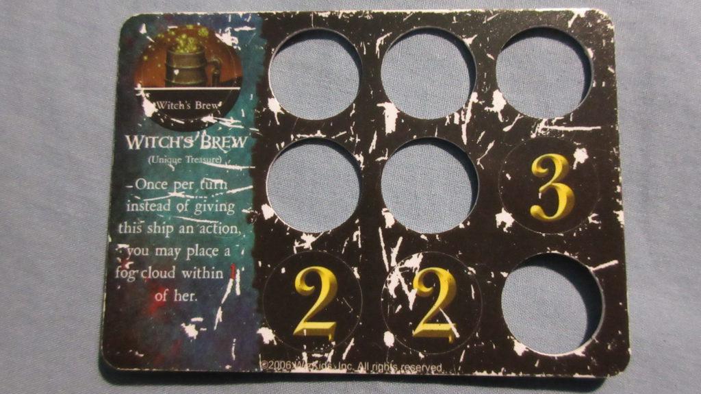 Witch's Brew Davy Jones Curse