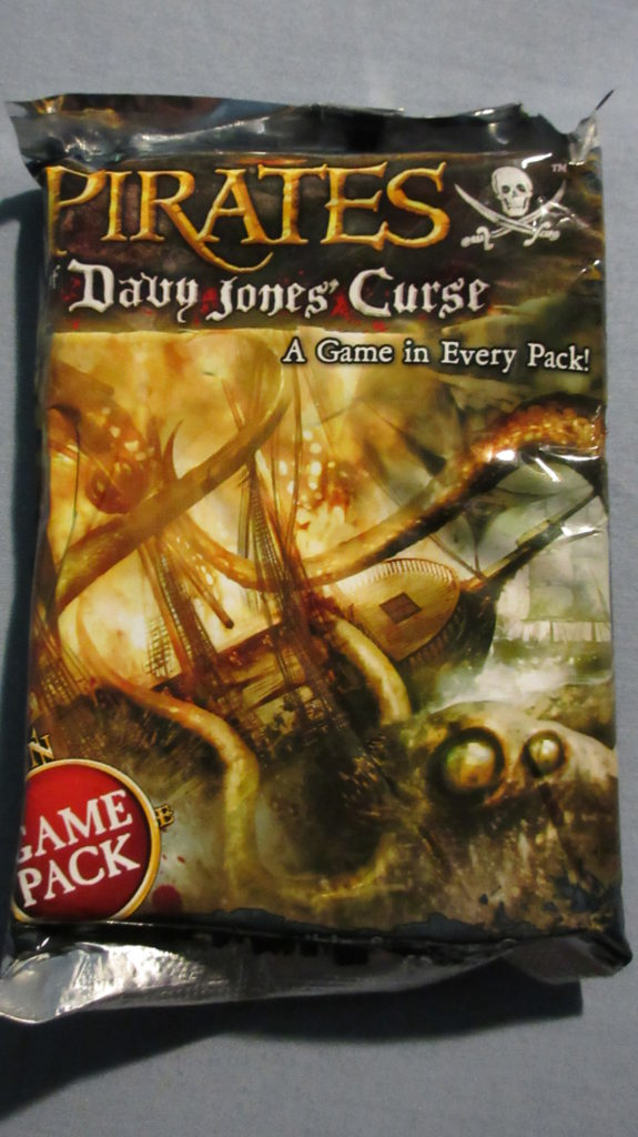 Different Set Editions Pirates of Davy Jones' Curse first pack
