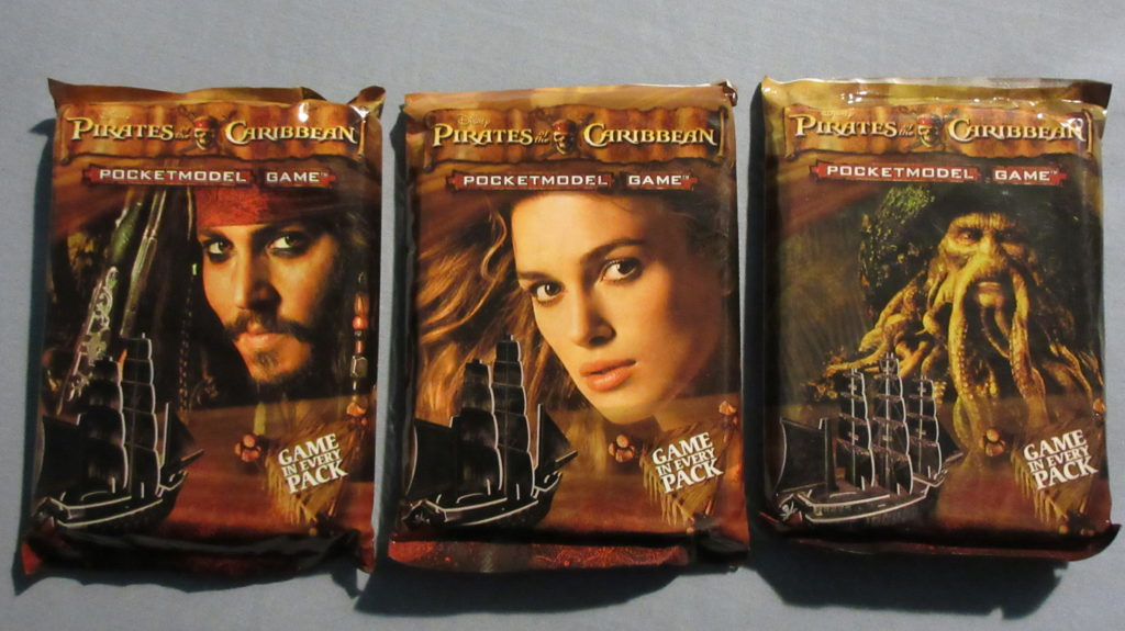 Wizkids Disney Pirates of the Caribbean packs