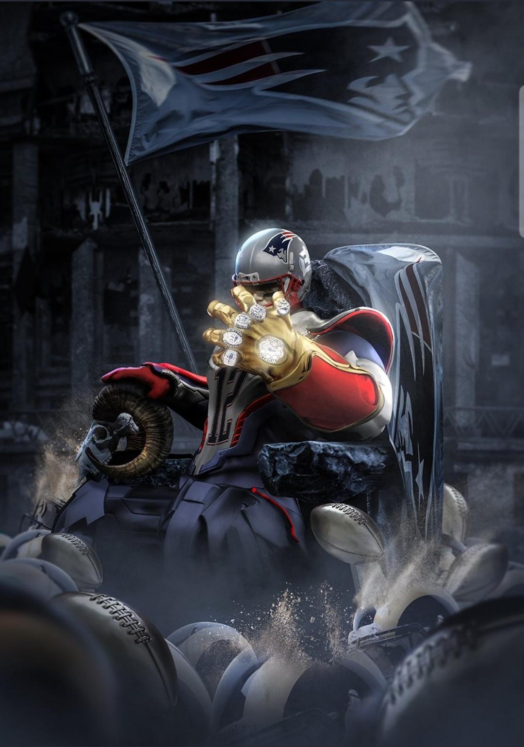 Tom Brady is Thanos