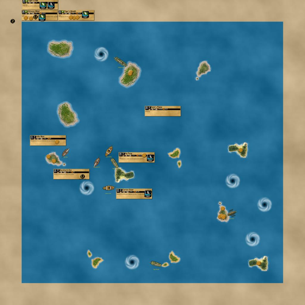 Jade Calypso fleet on VASSAL