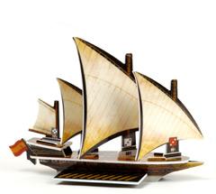 Espada de Dios Barbary Coast Spanish galley ship