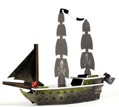 Selkie Davy Jones' Curse Pirate ship #038