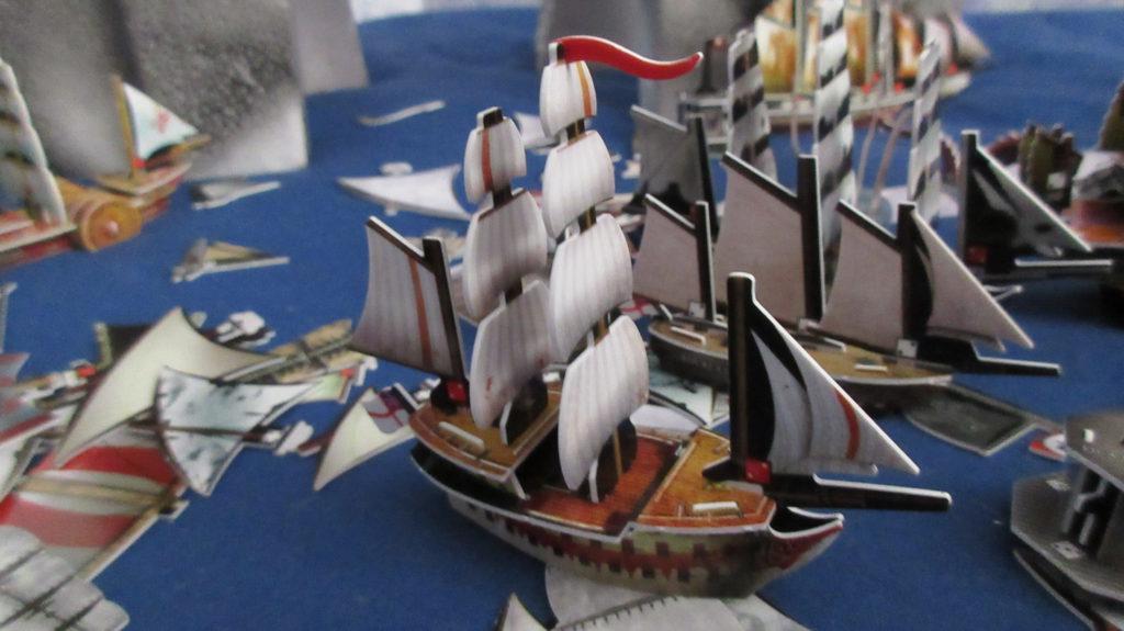 HMS Gallows sailing ship Pirates CSG