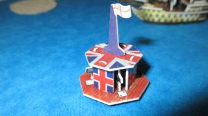 Tower flotilla English Union Jack flag
