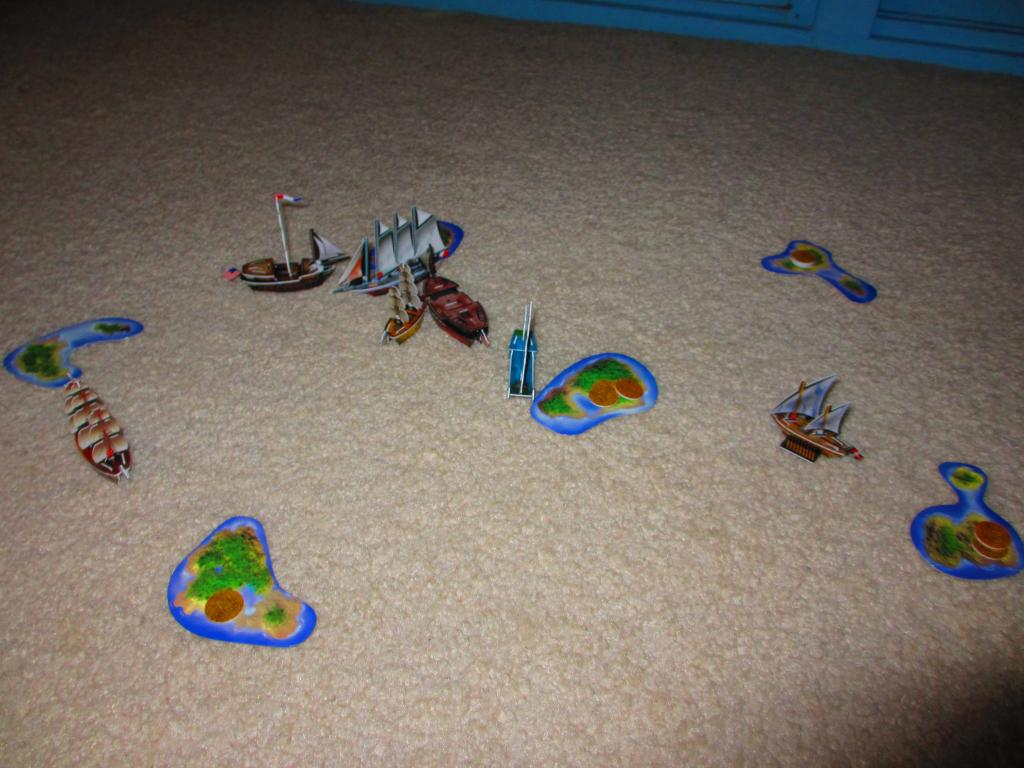 Random Setup Tables game November 30th 2014
