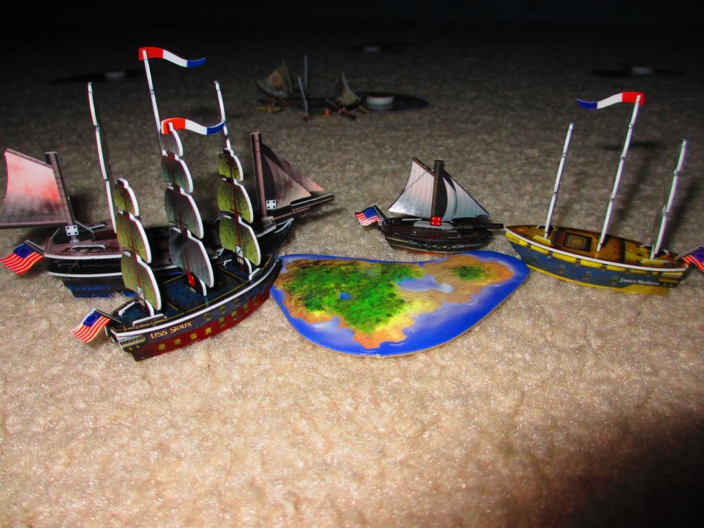 American fleet