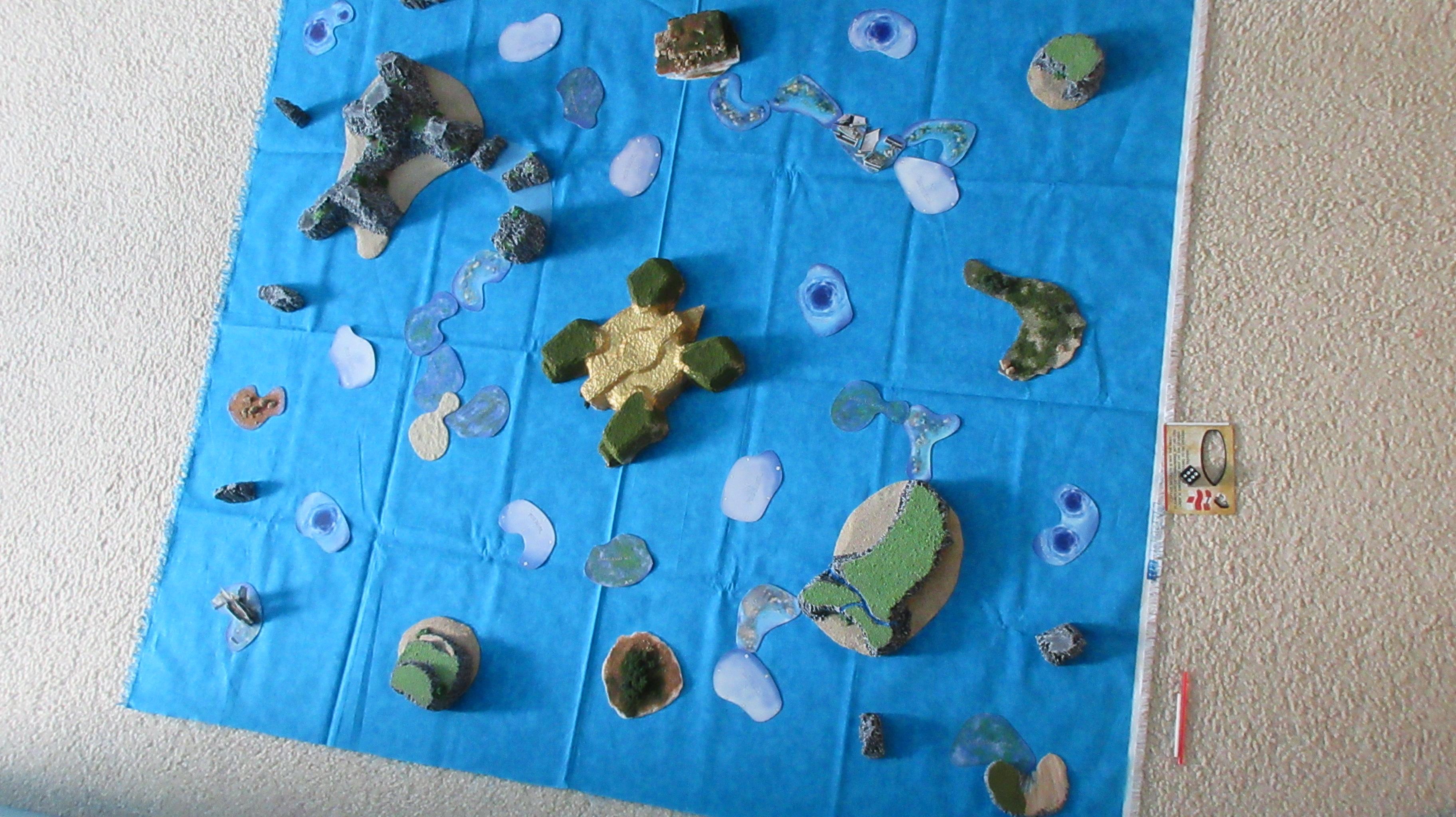 Legend of the Giant Turtle setup