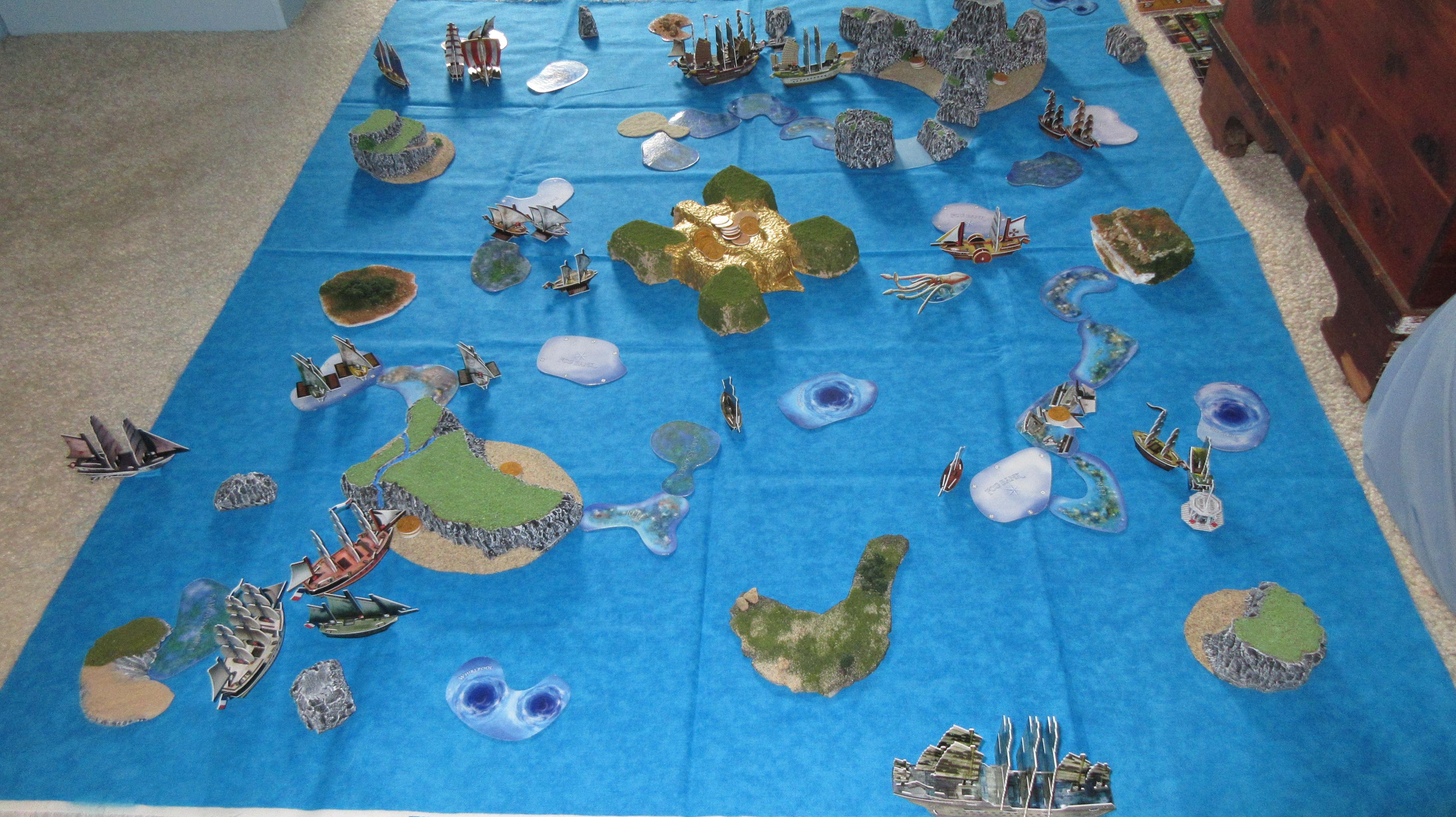 ocean setup