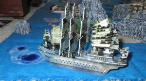 Zeus, massive Pirate 10 masted junk!