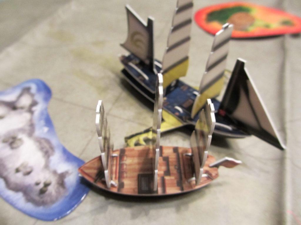 HMS Talon attack