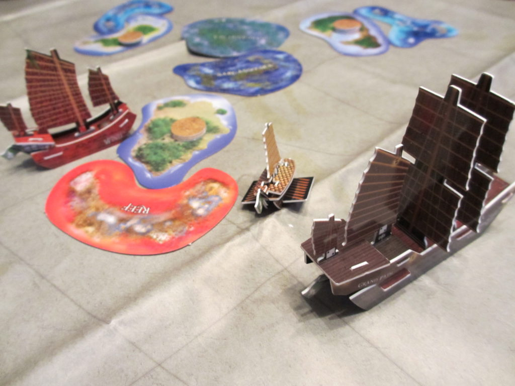 Jade Rebellion ships sailing