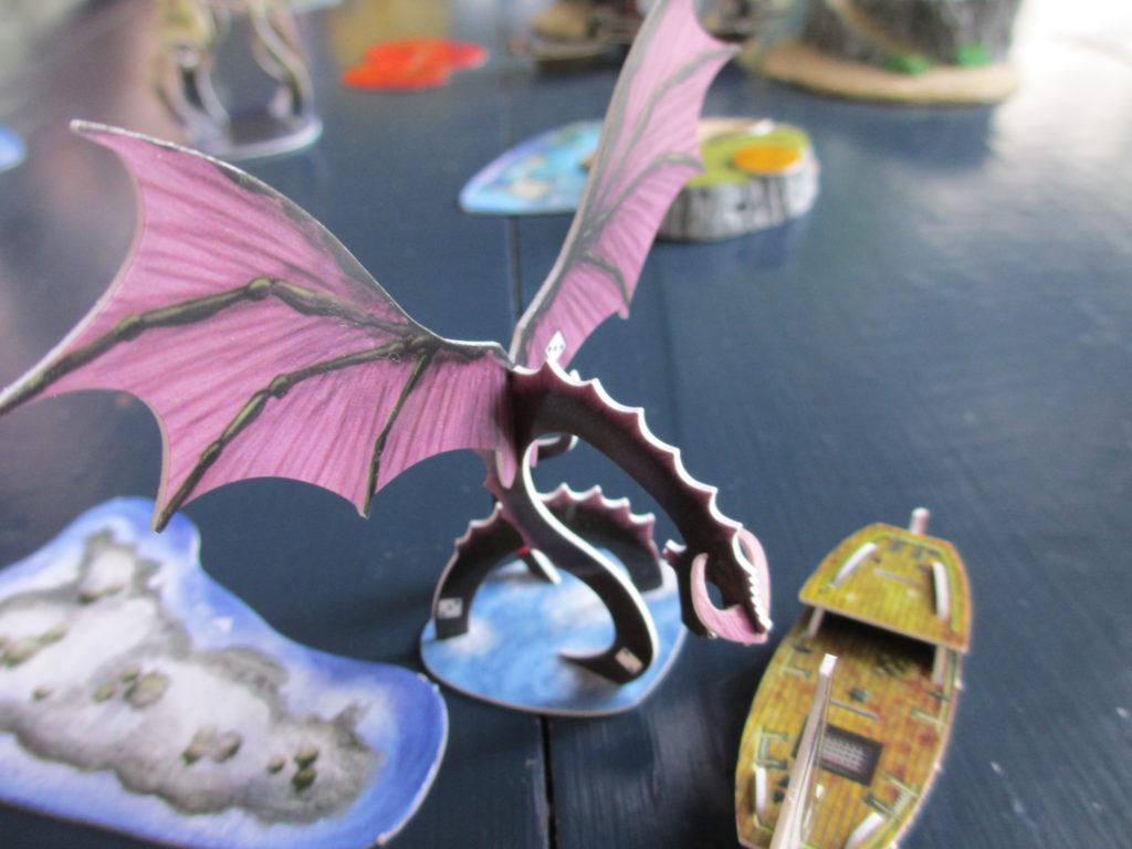 Shal-Bala wingspan sea dragon wings
