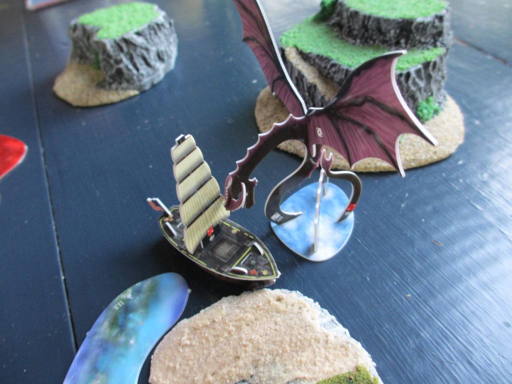 Shal-Bala sea dragon swoop attack