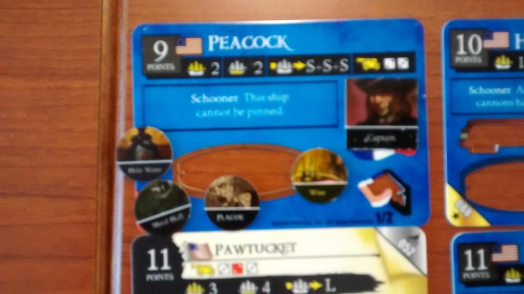 Peacock full deckplate