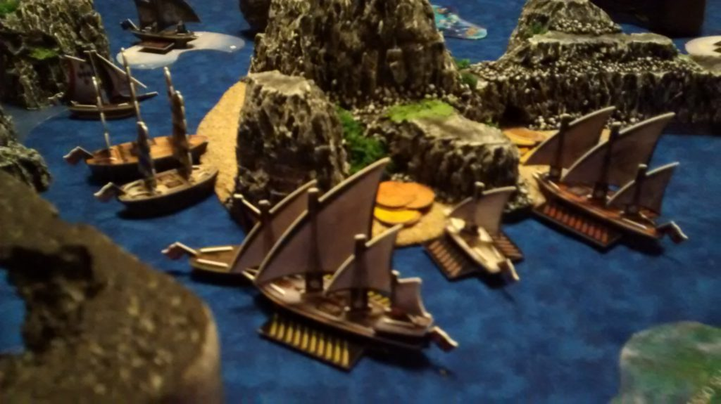Barbary Corsair Barbarossa in 4 Players, 40 Points - August 15th, 2015