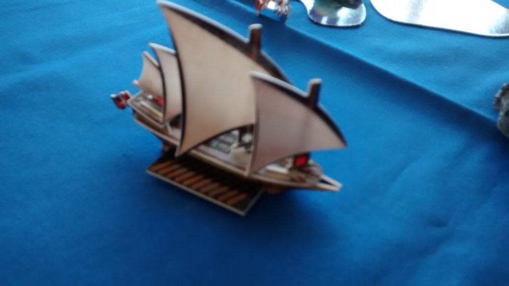Terror of Gibraltar corsair galley