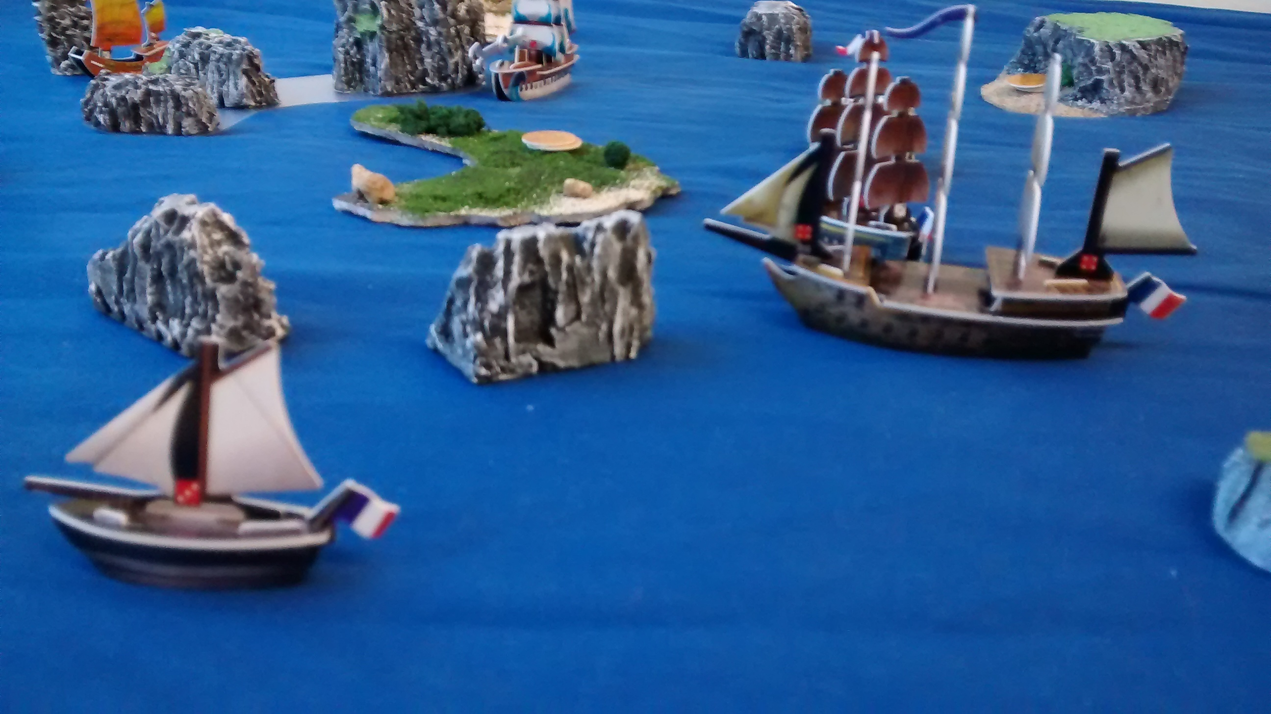 Trafalgar Day Game - English vs. French on October 21st, 2015