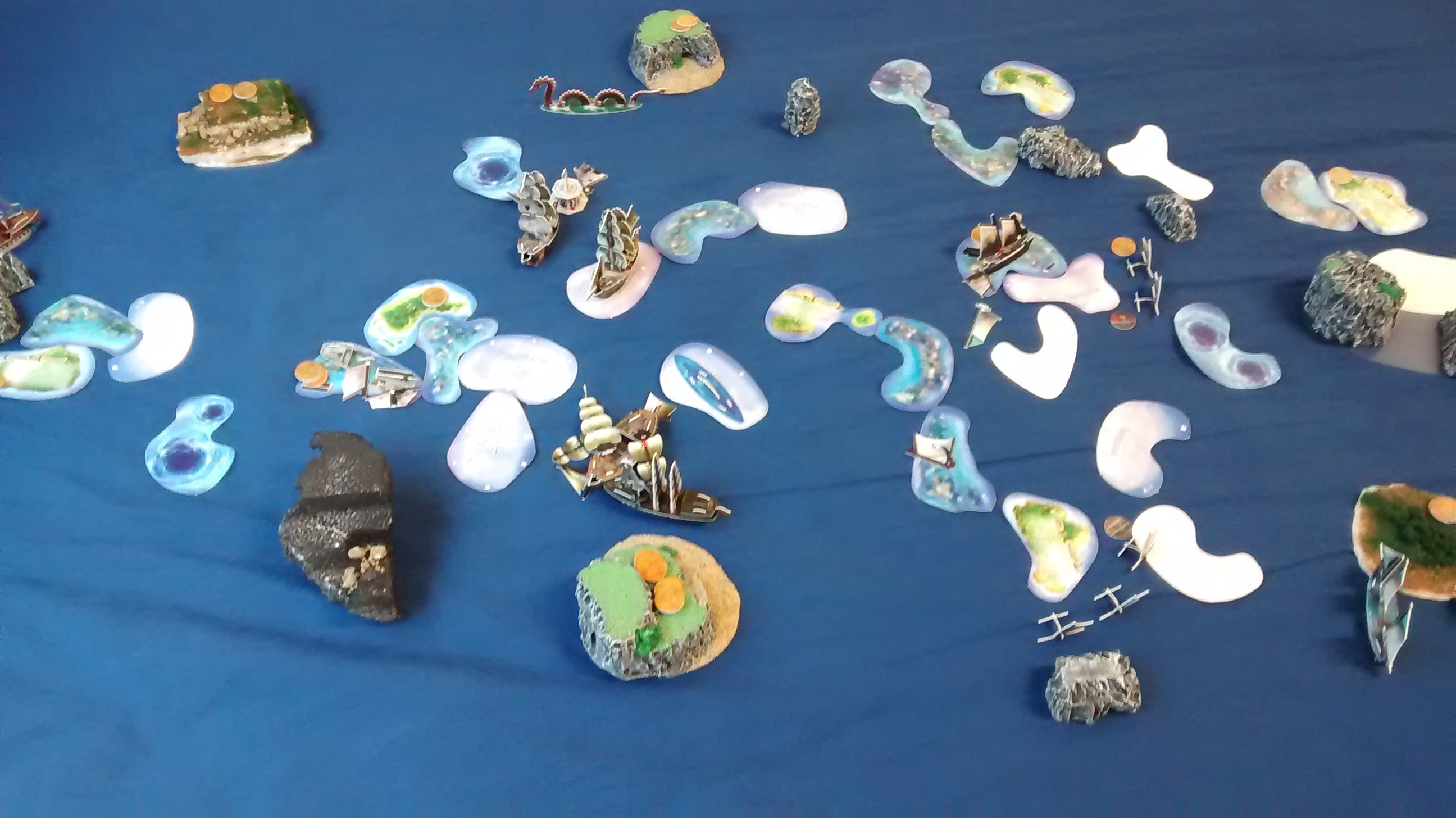 Halloween Game - 4 Fleets at 60 Points on October 31st, 2015