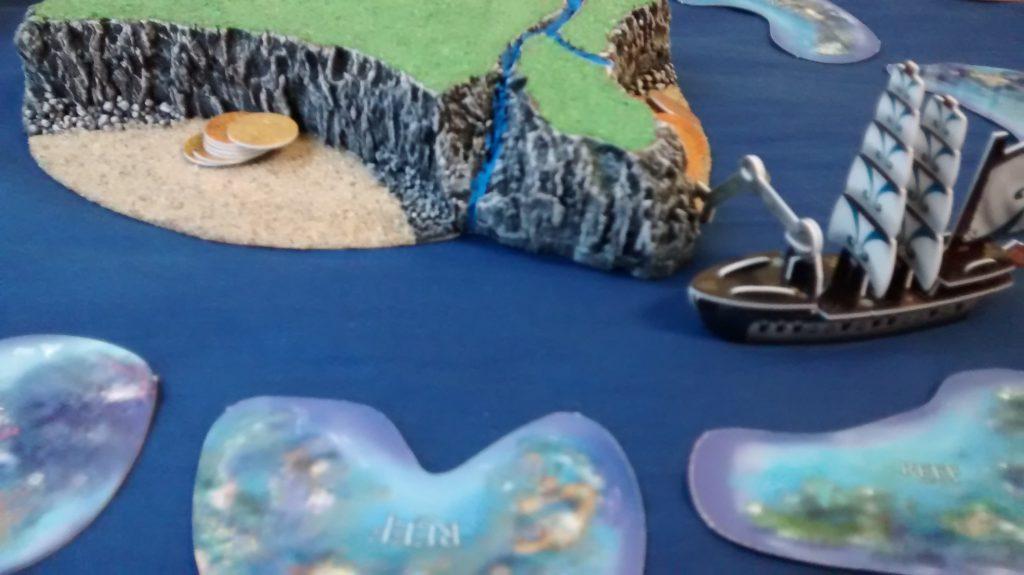 hoist reaches island to explore