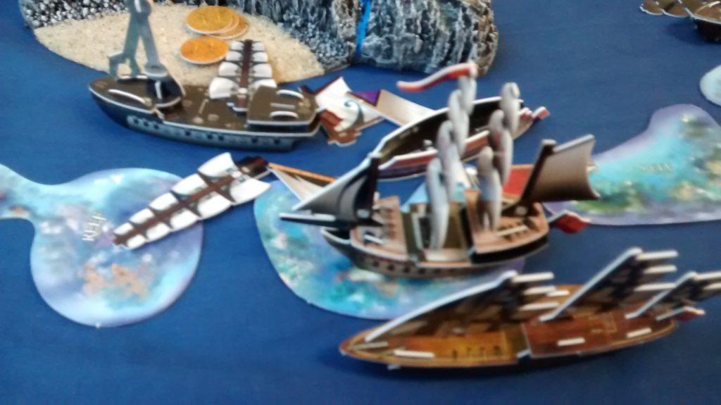 Pirates CSG reef combat