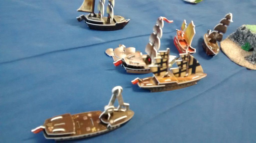 high seas combat