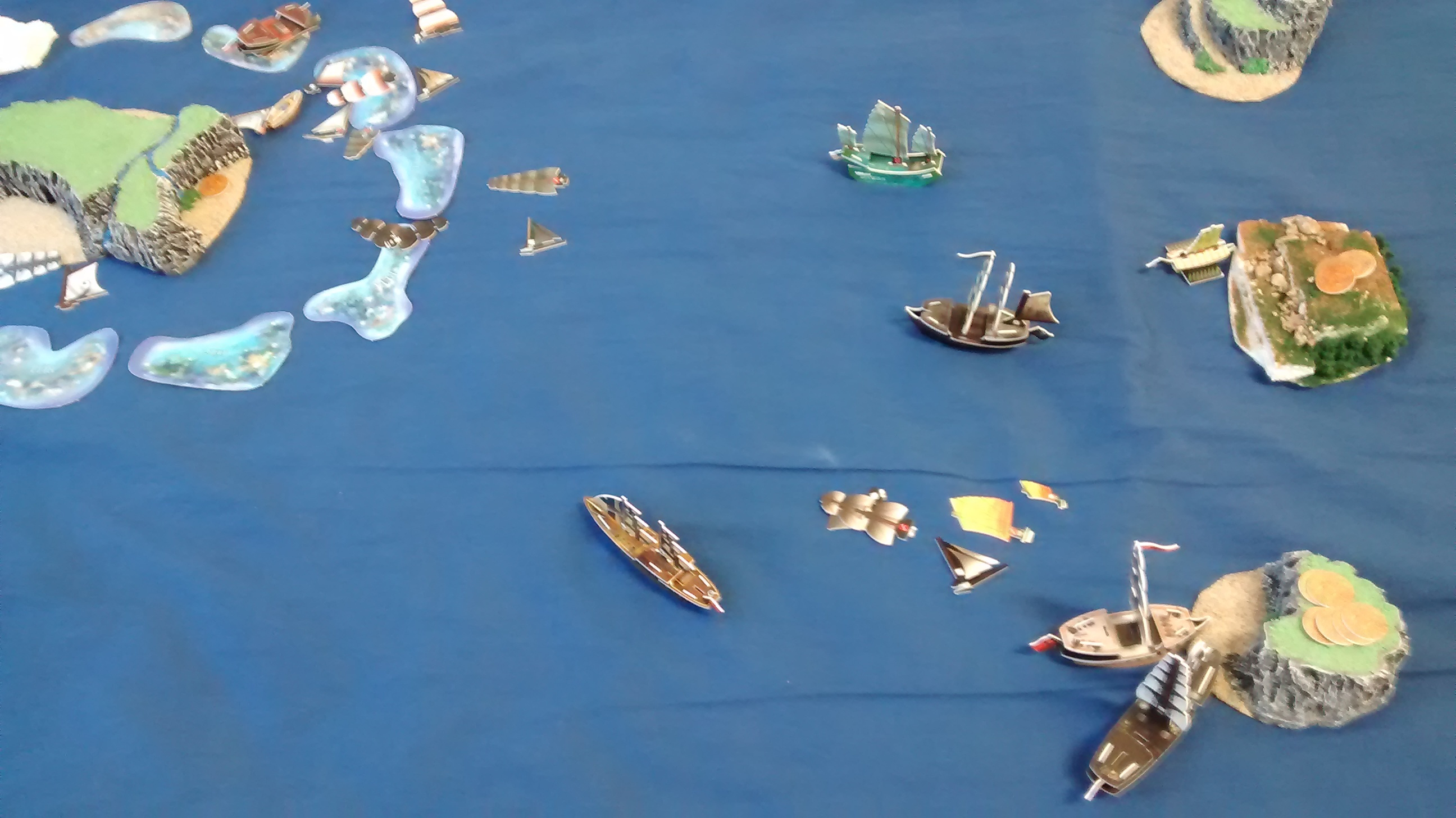 Proxy War!  3 Fleets at 80 Points on November 1st, 2015