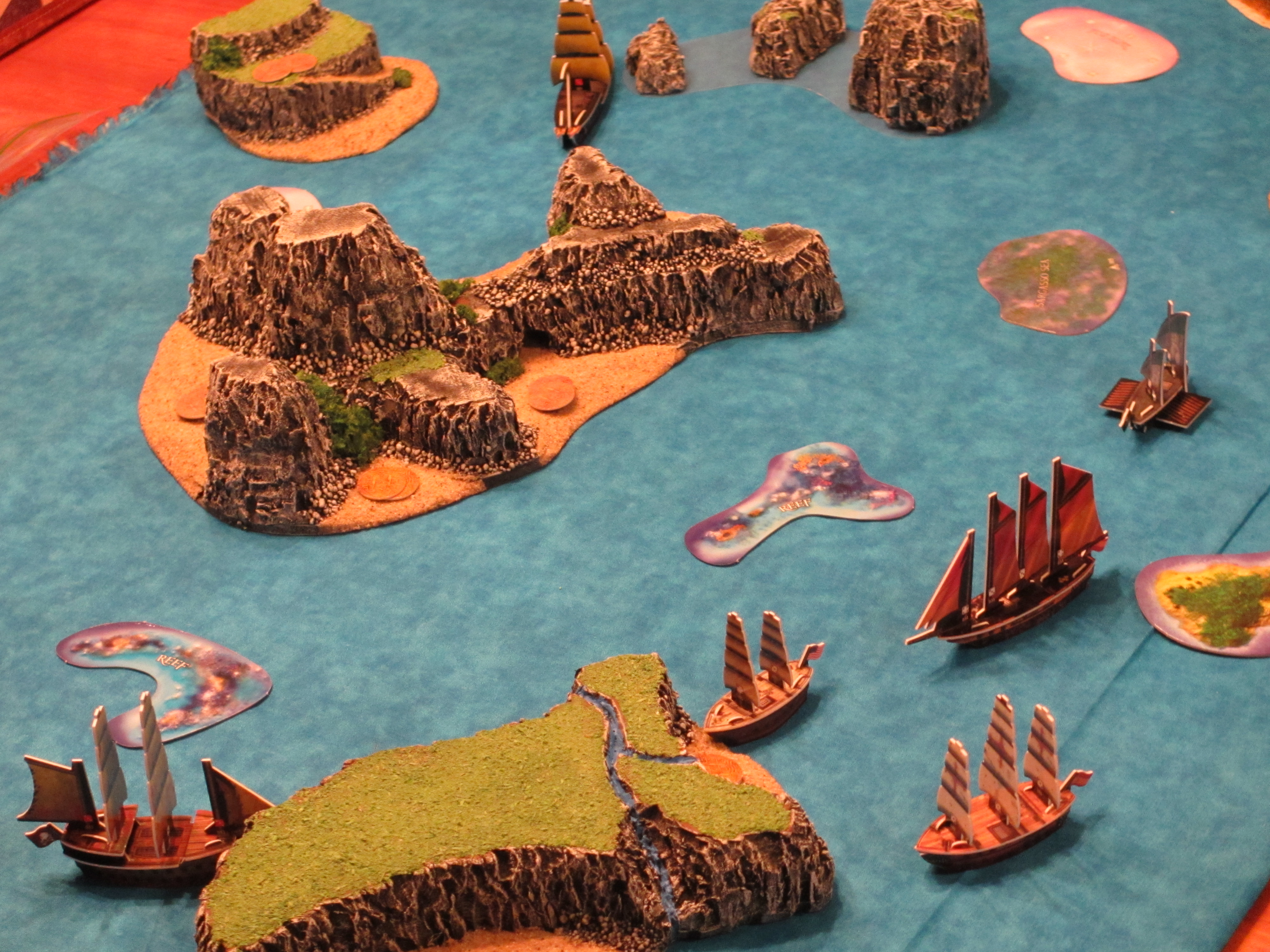 beautiful islands and ocean Pirates CSG
