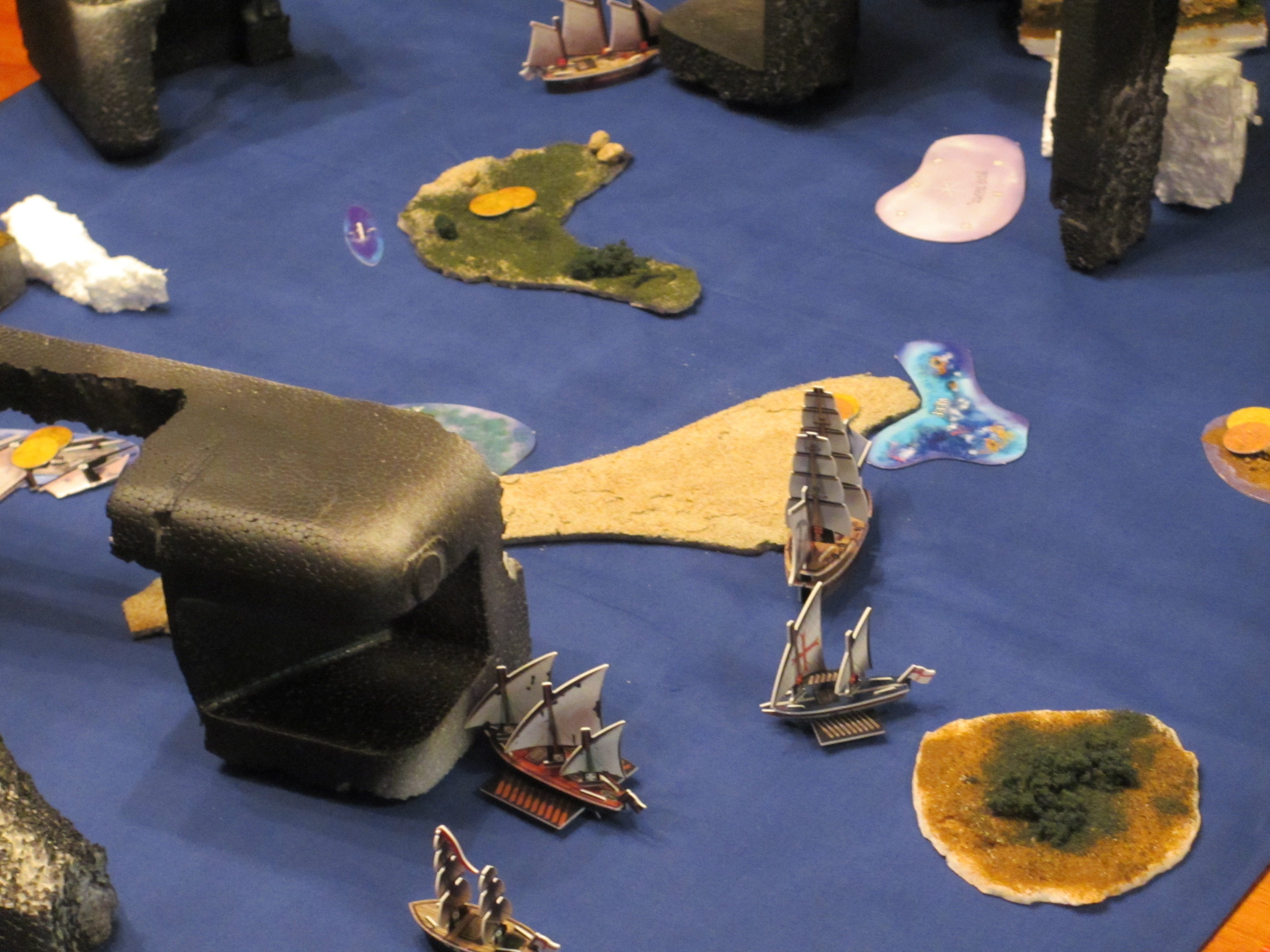 New Islands and Terrain Used - August 2nd, 2015