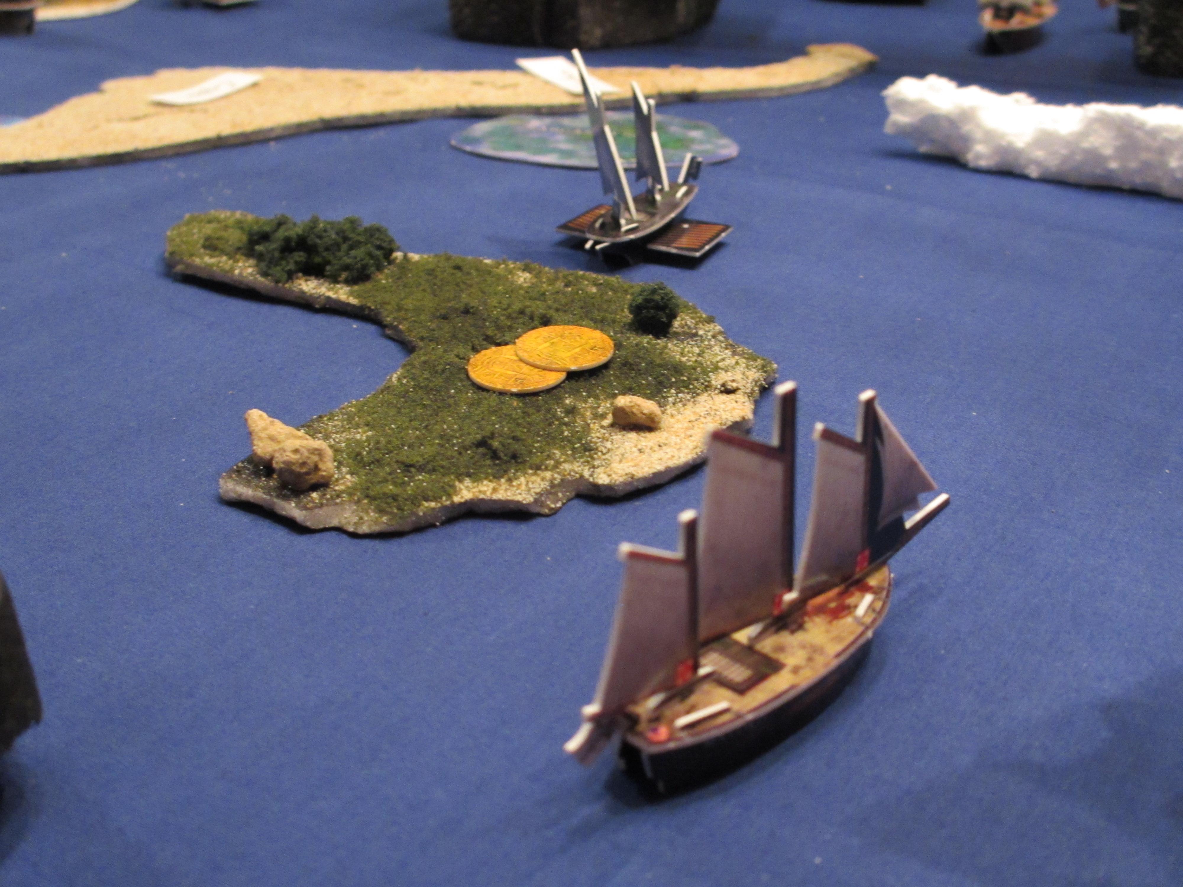 Pirates CSG island