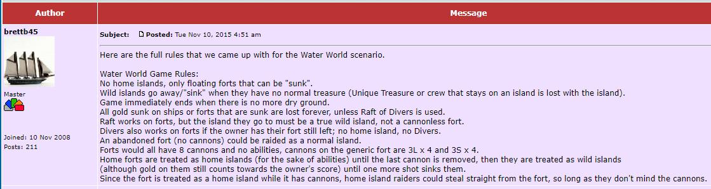 Water World brettb45 rules