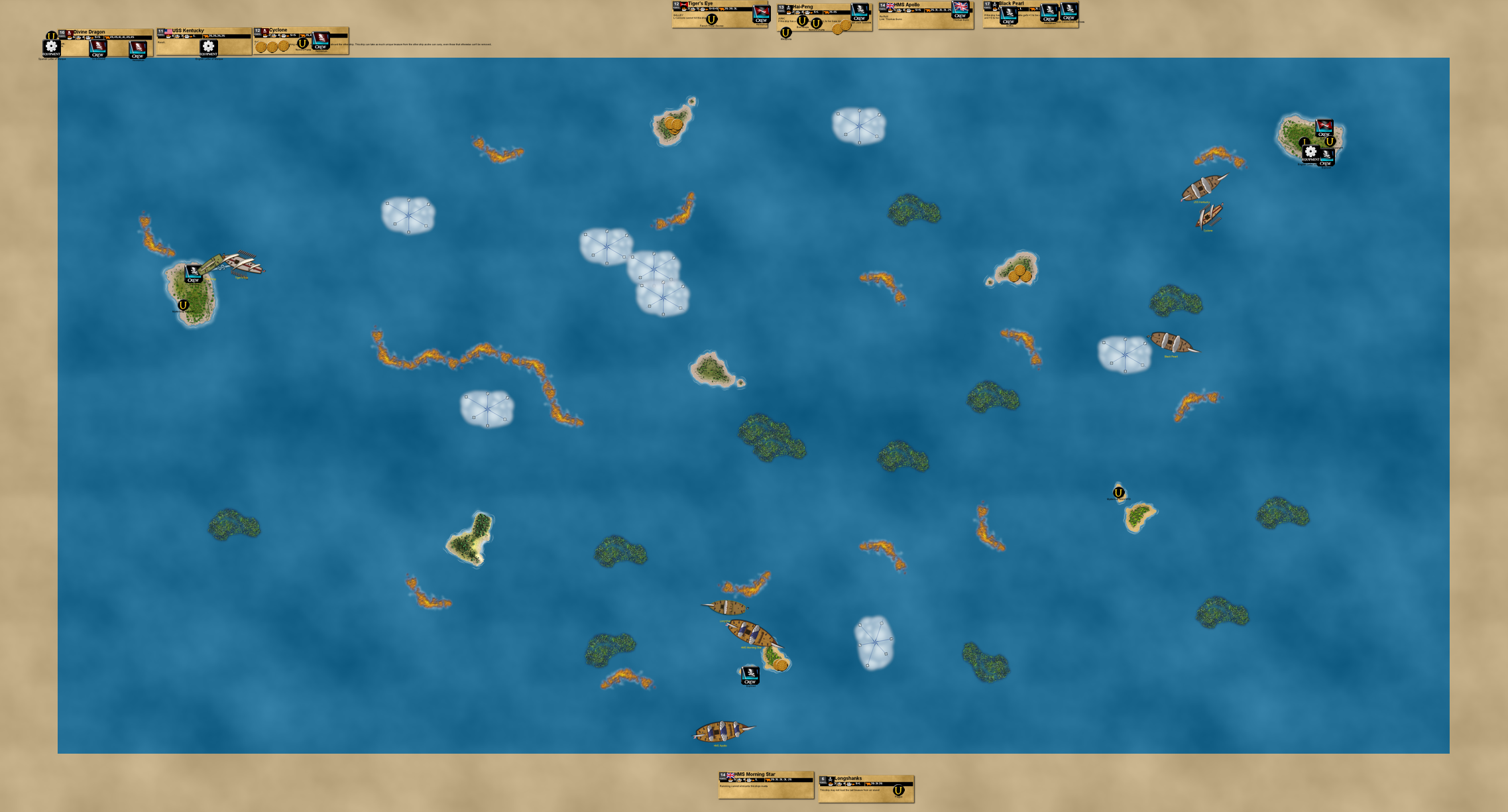 VASSAL Pirates - Game 16 on August 26th, 2016