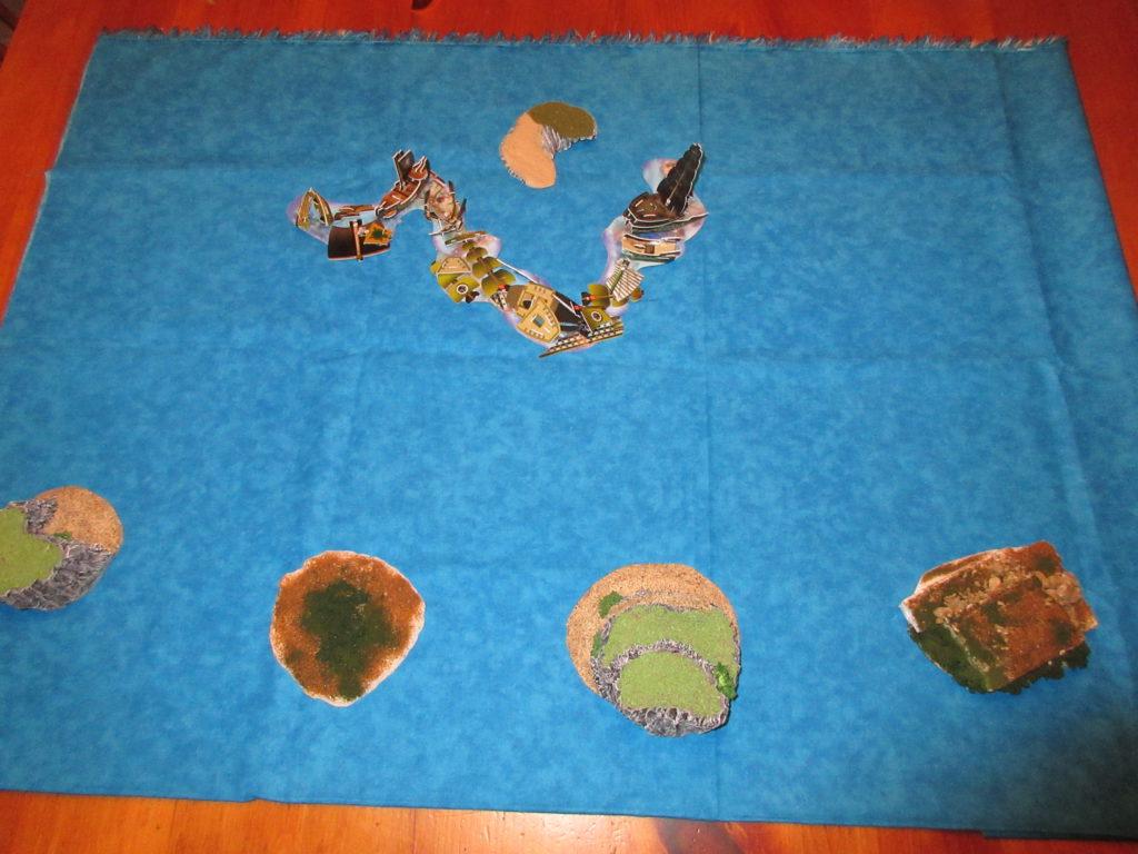 ocean map setup
