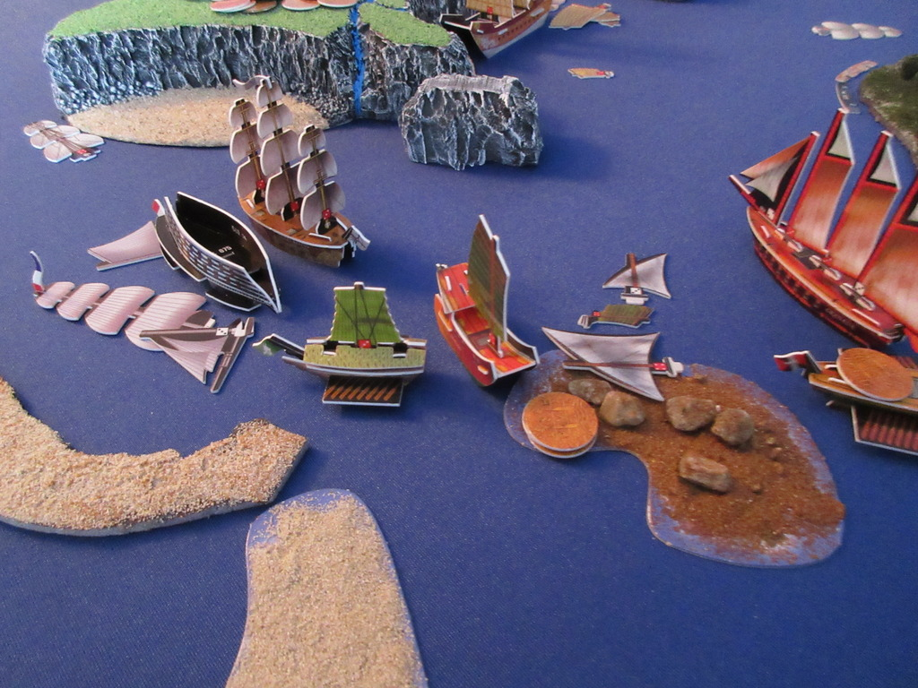 sinking of Geographe