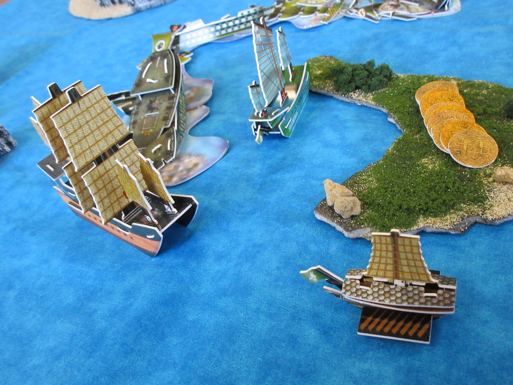 Jade Rebellion ships