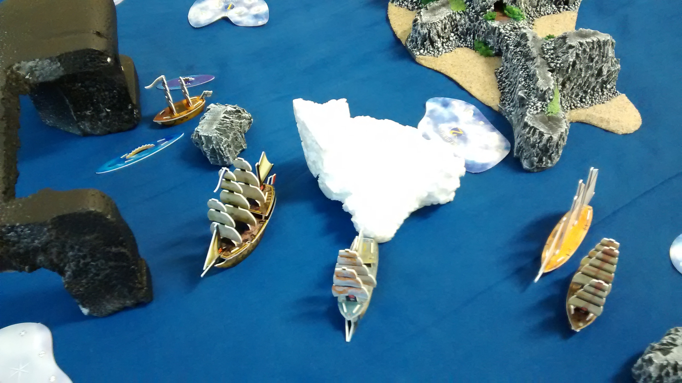 Froide Vengeance towing iceberg