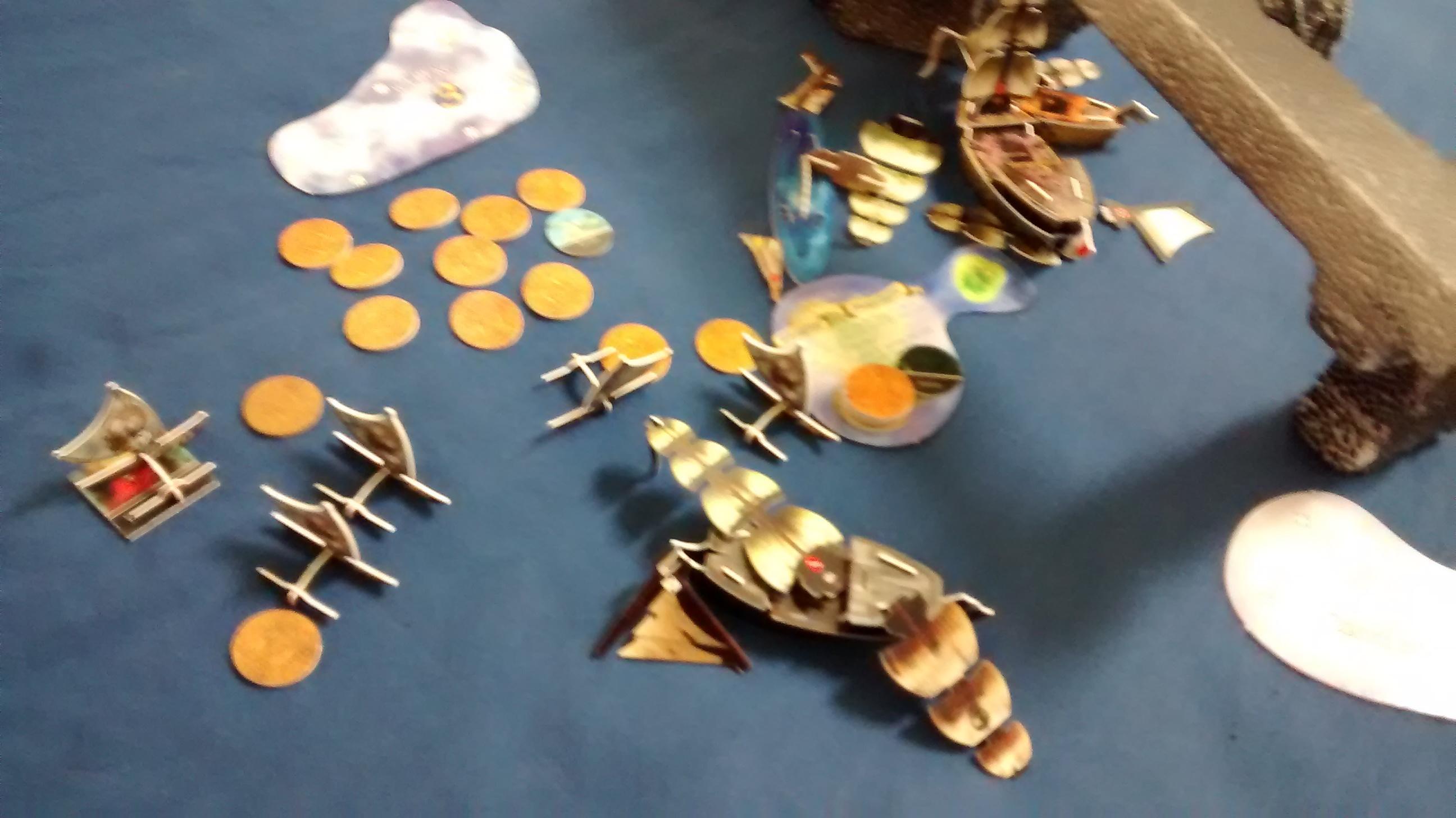naval warfare Pirates CSG